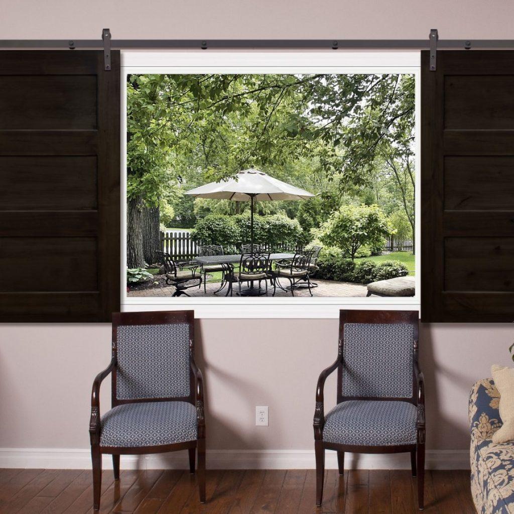 Sliding Barn Door Window Coverings1314 X 900