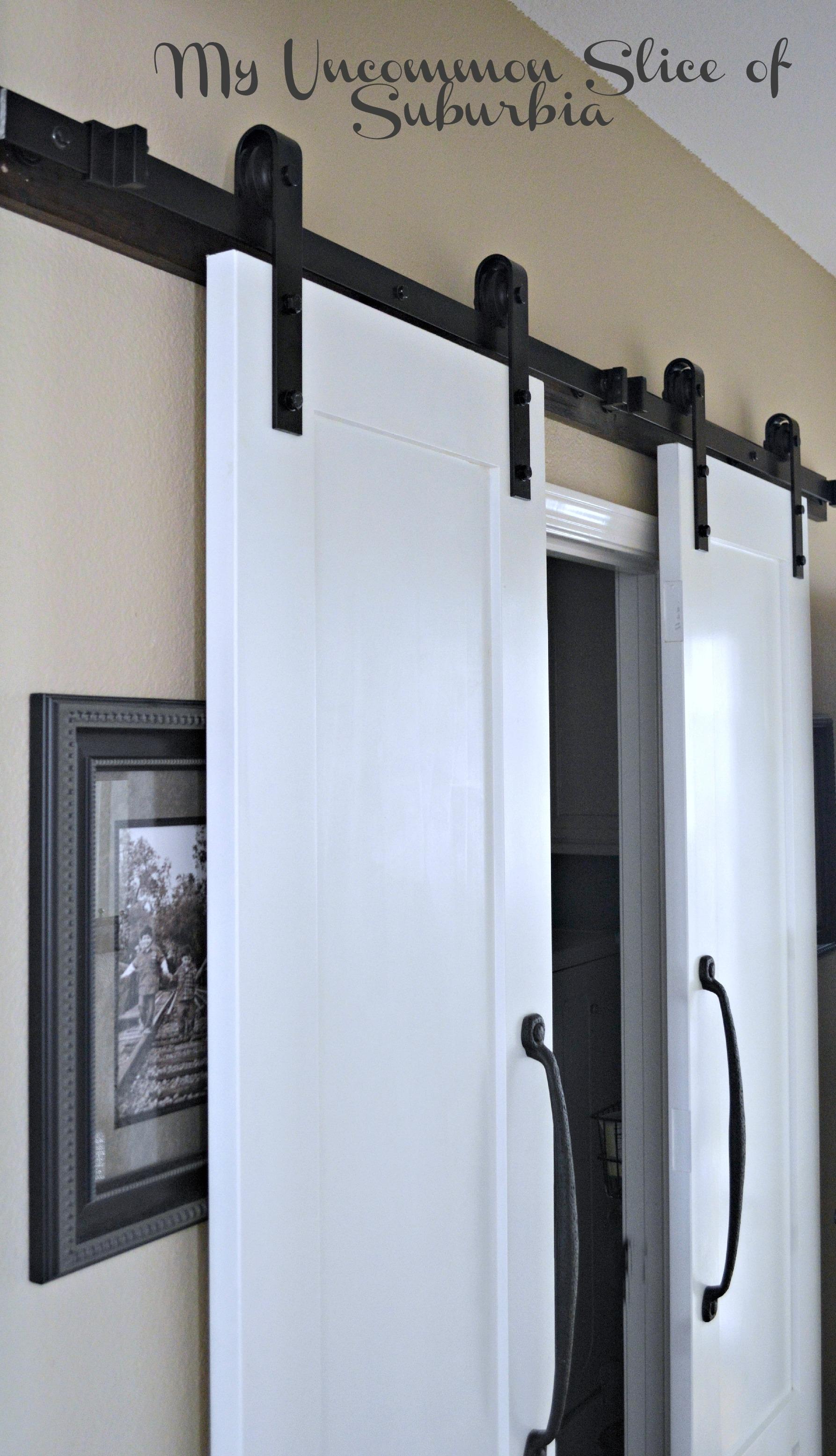 Sliding Barn Doors For Laundry Room