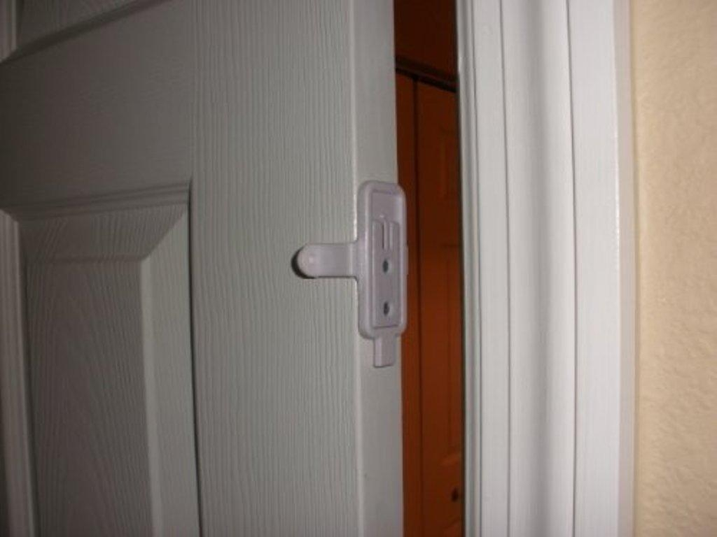Sliding Closet Door Safety Locks