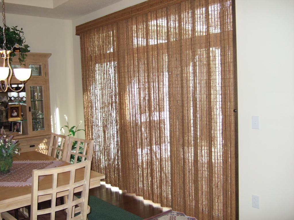 Sliding Door Curtain Blinds1024 X 768