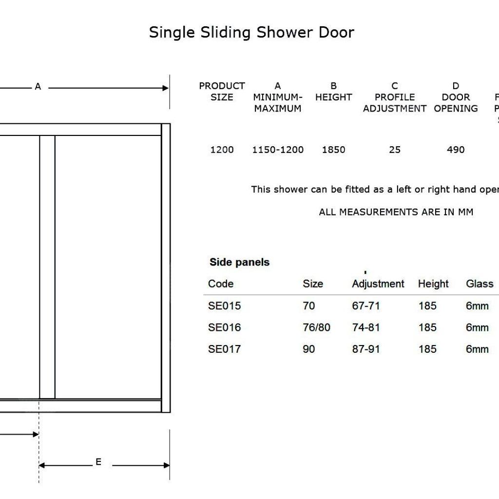 Sliding Door Length1476 X 969