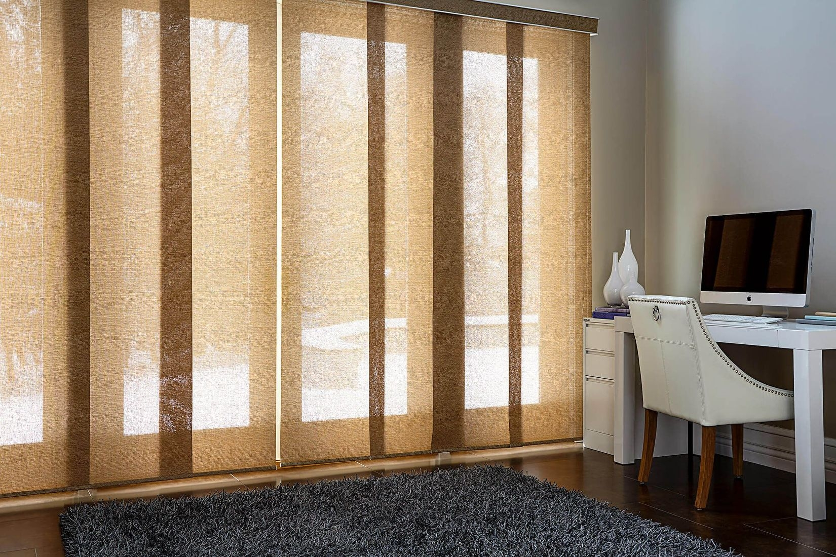 Sliding Glass Door Panel Track Blinds