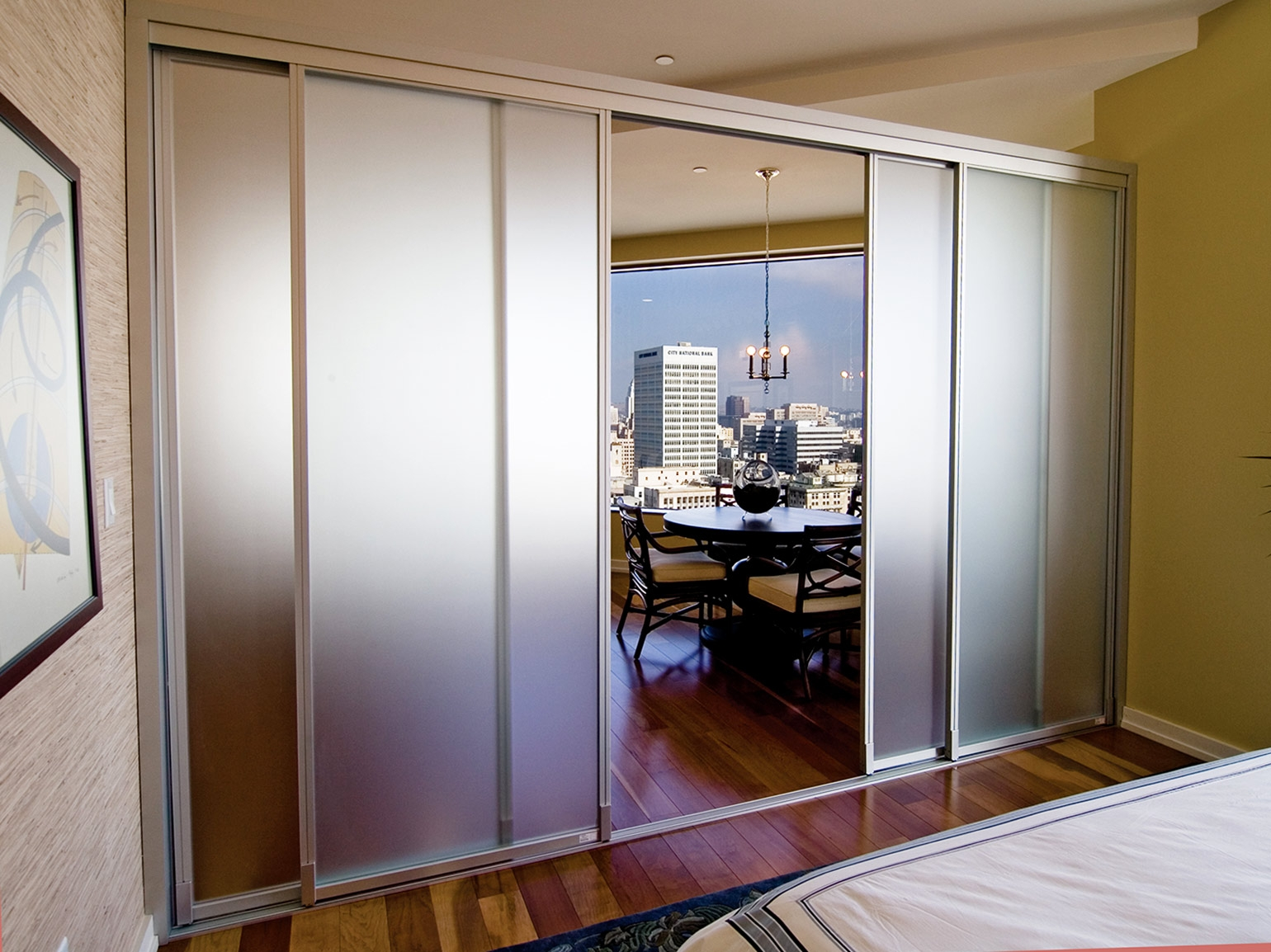 Sliding Glass Doors Room Dividersglass room dividers wfrosted glass