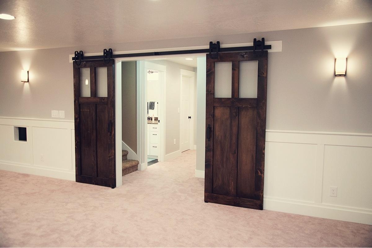 Sliding Interior Barn Doors With Glass1200 X 801