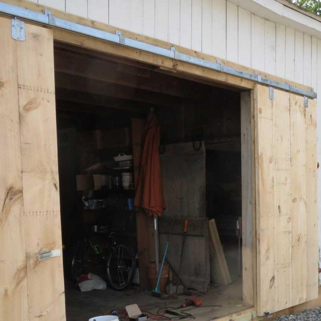 Sliding Pole Barn Door Track