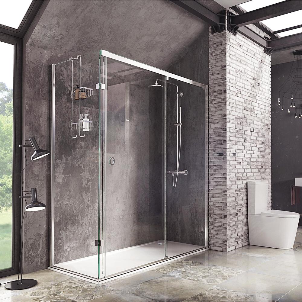 Sliding Shower Door Finger Pulldecem sliding door with finger pull handle shower enclosure roman