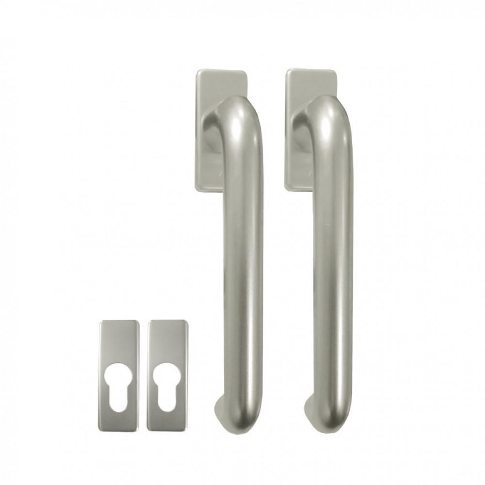 Tilt And Slide Patio Door Handlestilt slide patio door handle with escutcheon plates