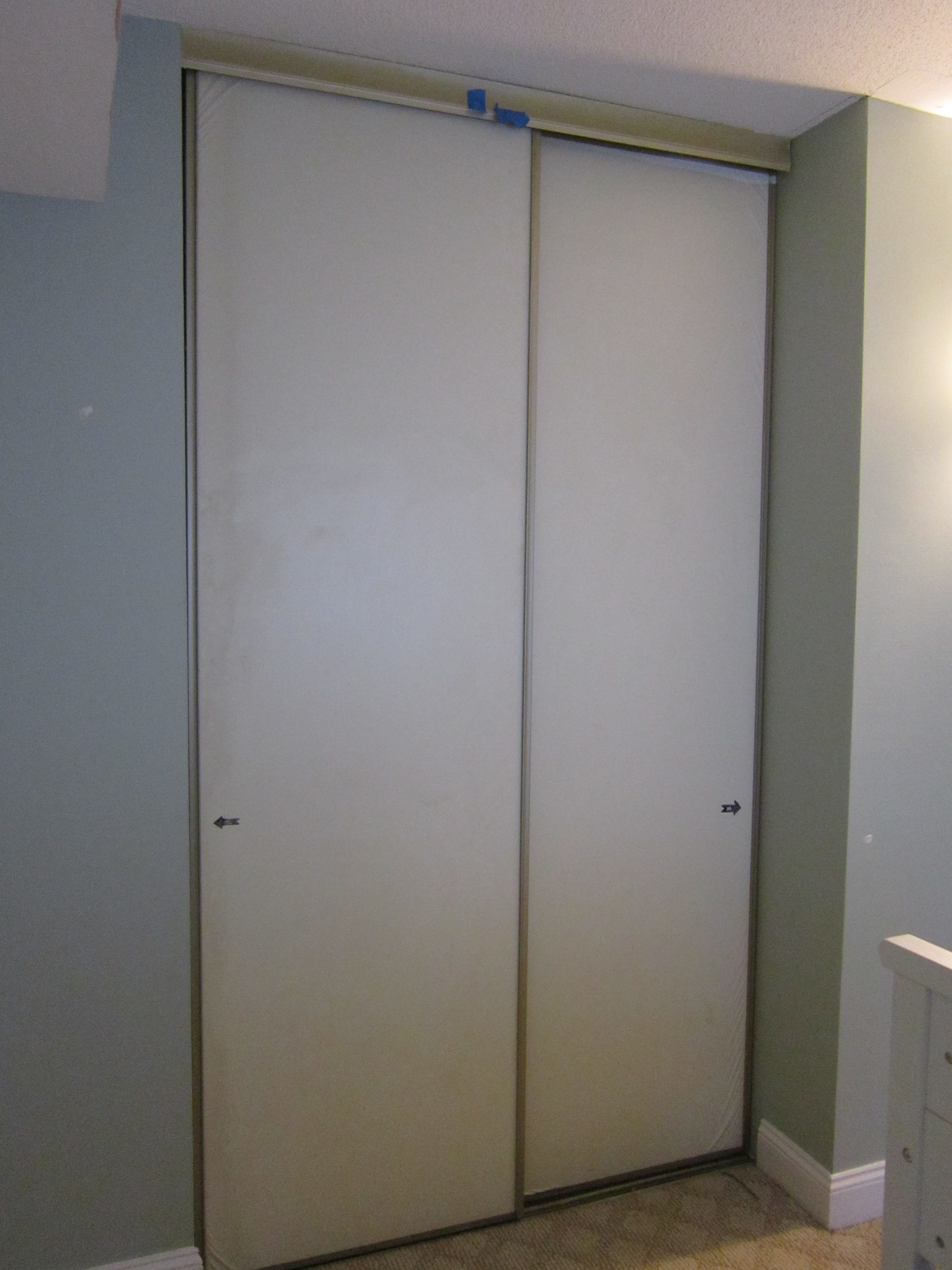 Updating Old Sliding Closet Doors3456 X 4608