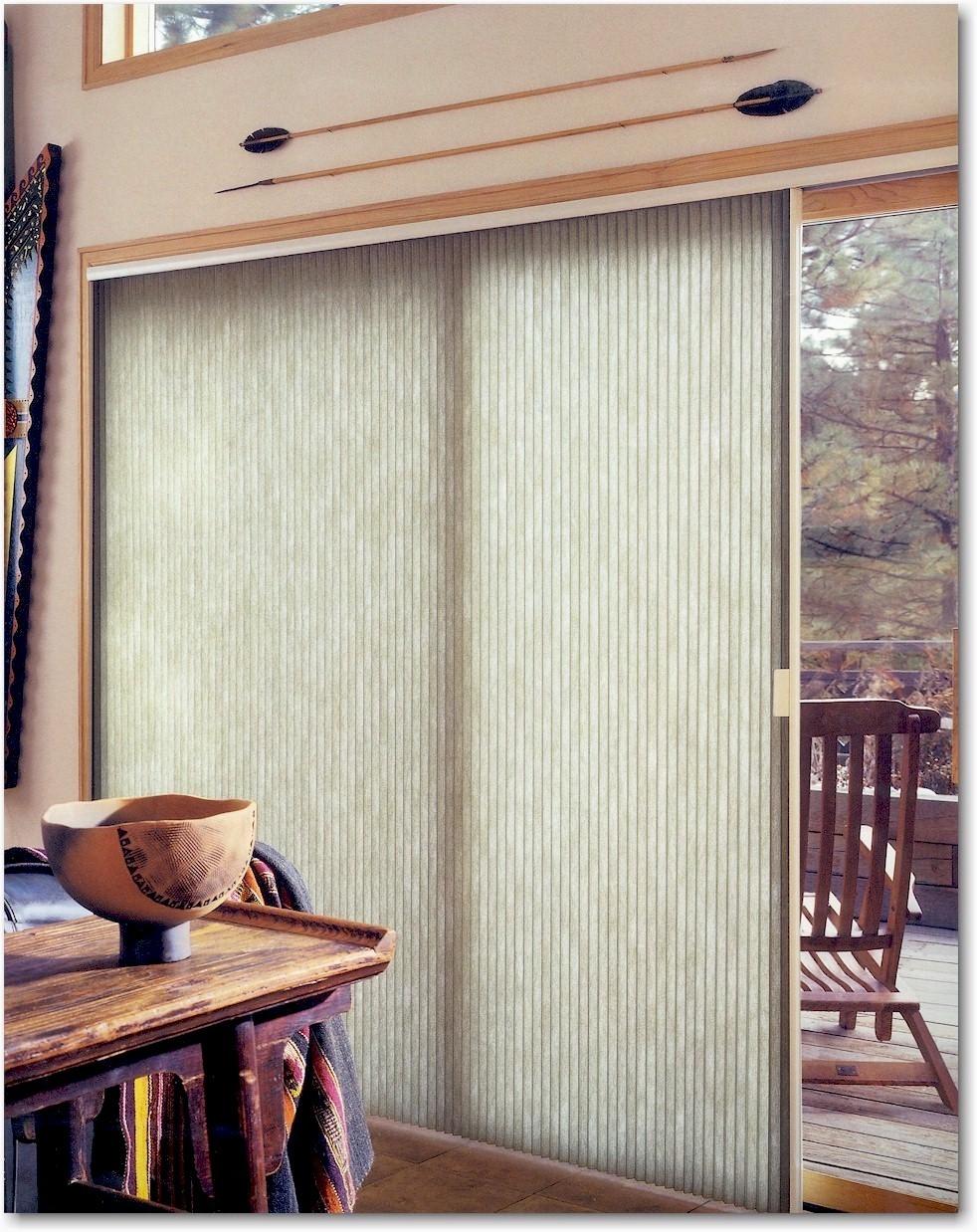 Vertical Honeycomb Shades For Sliding Glass Doorsvertical cellular shades and blinds blinds express
