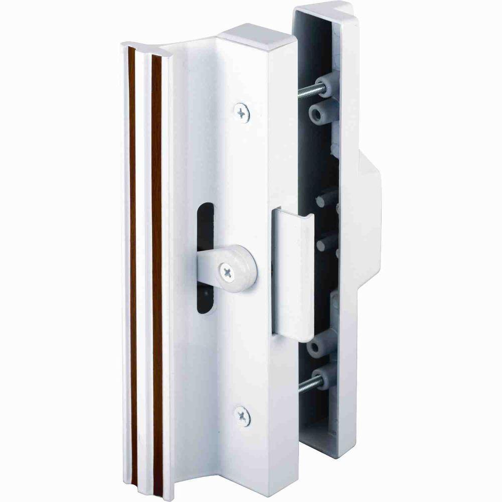 White Sliding Glass Door Handle With Lockprime line surface mounted sliding glass door handle with clamp