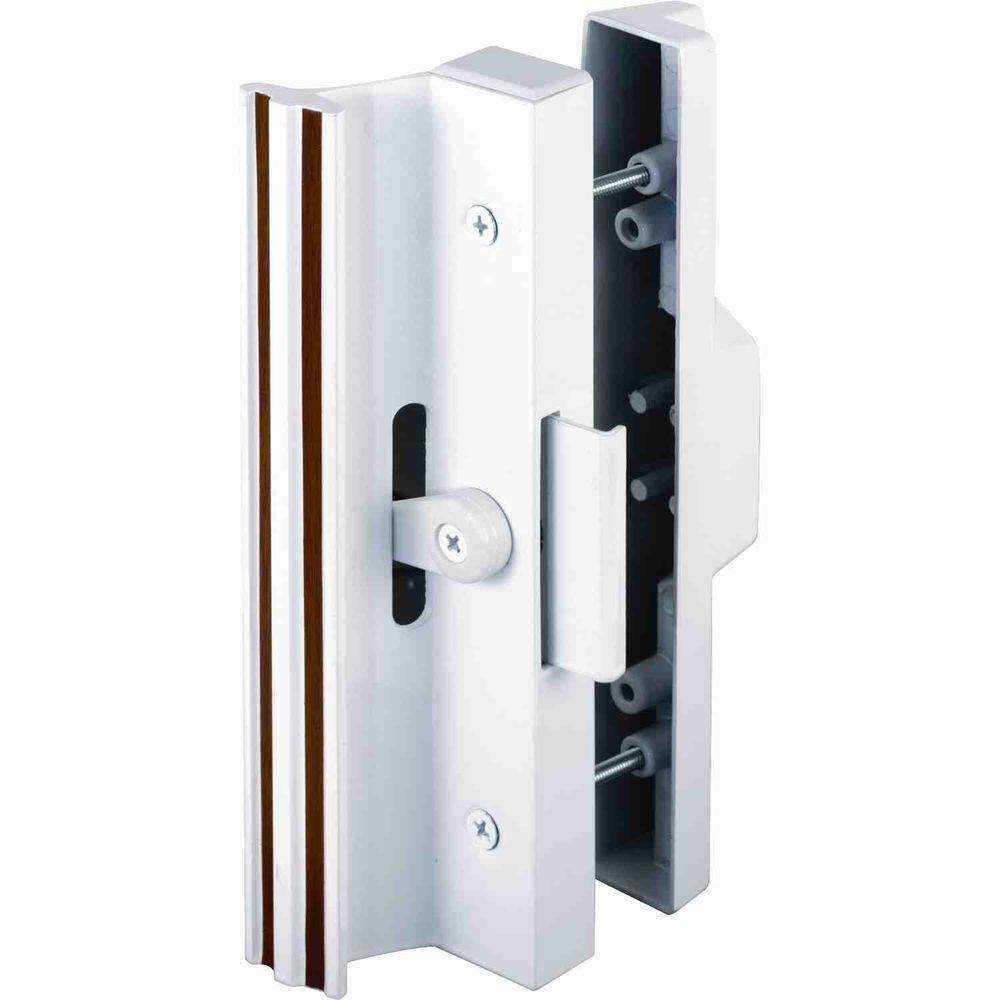 White Sliding Glass Door Pullprime line surface mounted sliding glass door handle with clamp