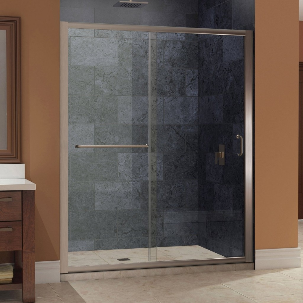 6 Foot Sliding Glass Shower Door