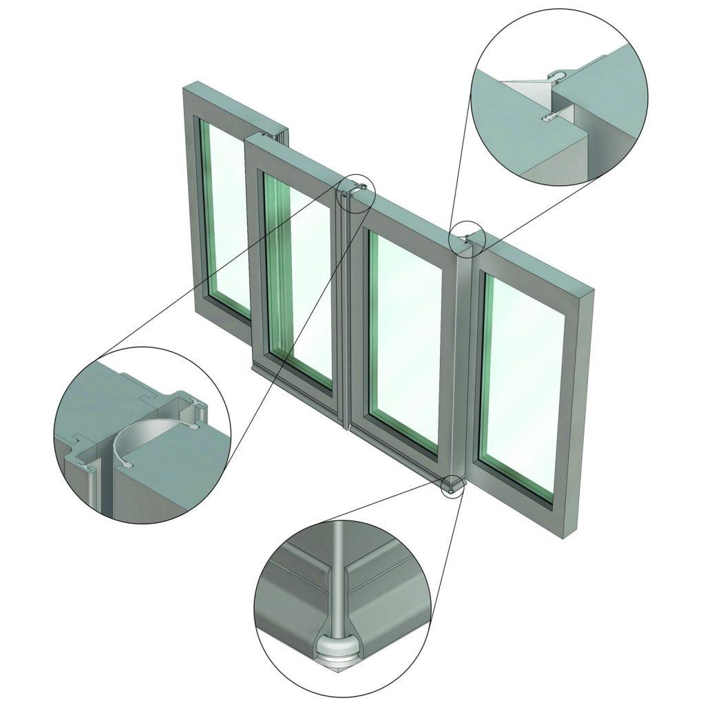Acoustic Sliding Door Sealsissda301 complete performance smoke sealing system for dorma el301