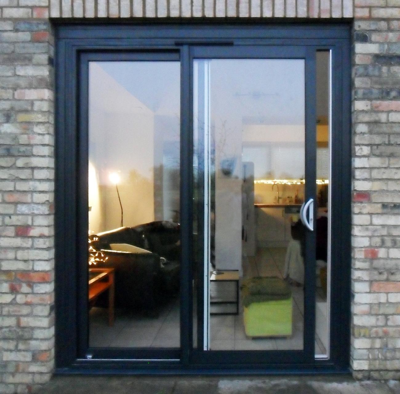 Aluminium Sliding Glass Patio Doorspowder coated aluminium sliding patio doors 2 panel aluminium