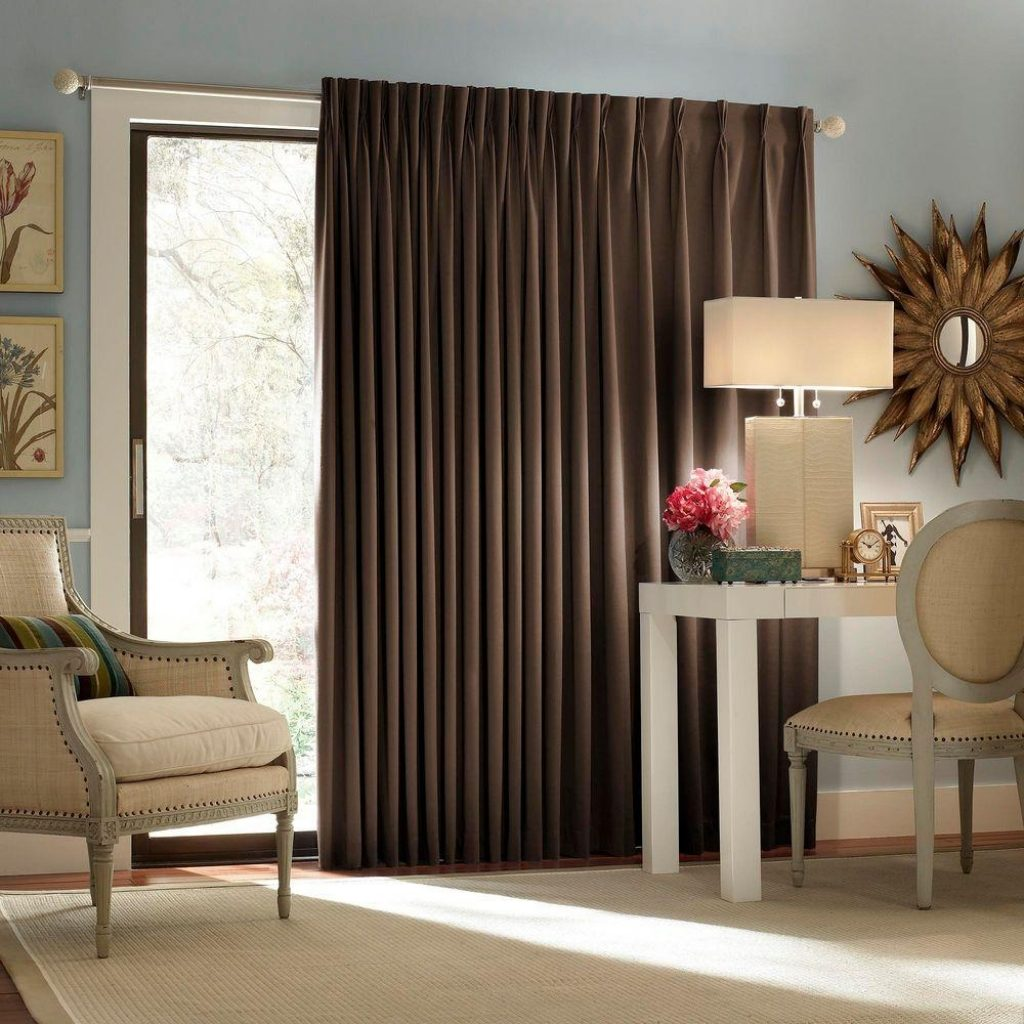 Blackout Shades For Sliding Doorseclipse blackout thermal blackout patio door 84 in l curtain