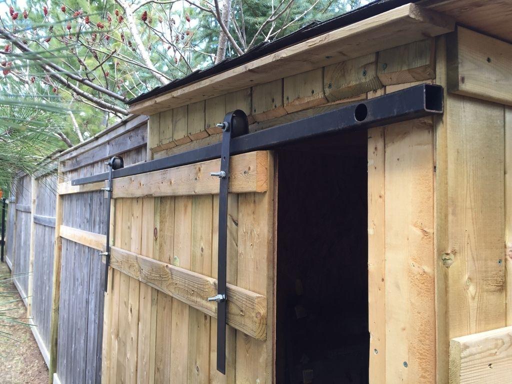 Exterior Sliding Barn Door Track Systemexterior sliding barn door track system exterior doors ideas