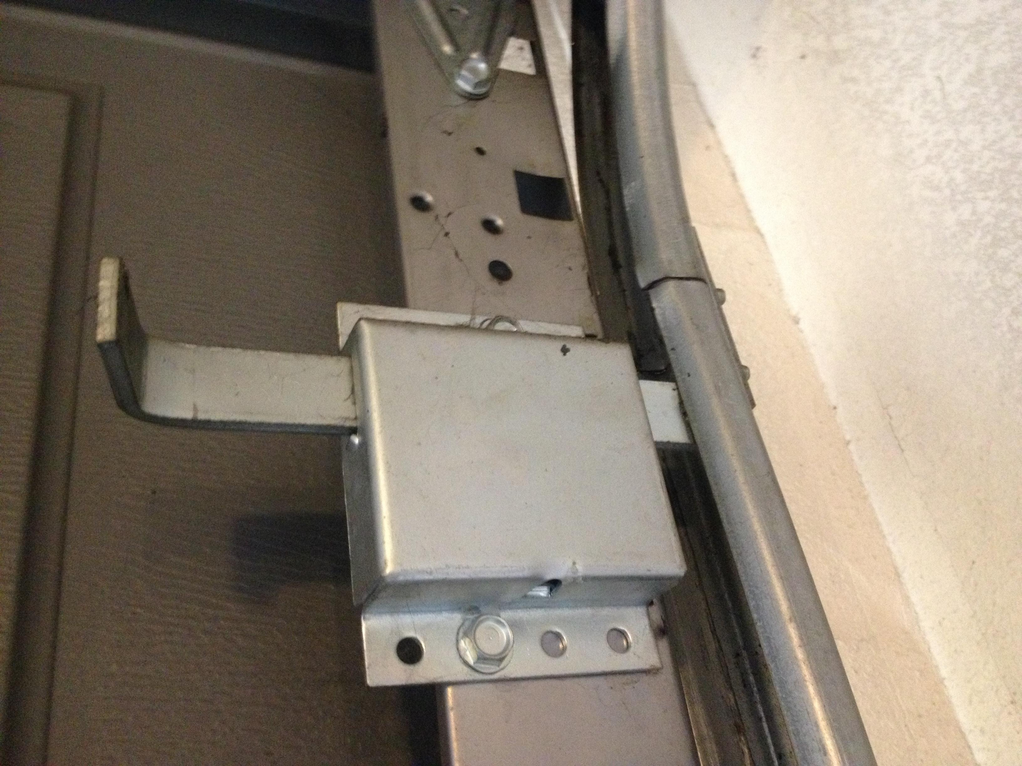 Garage Door Slide Lock Latch