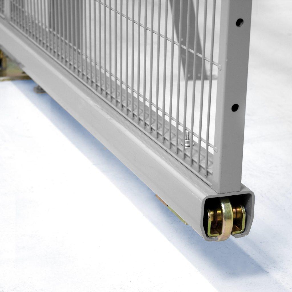 Knape & Vogt P2413tan72 Plastic Sliding Door Track And Guides
