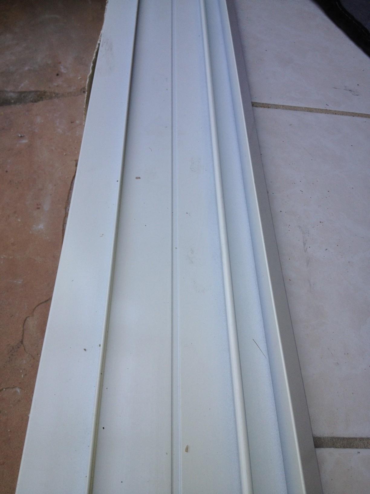 Lower Track For Sliding Screen Doors