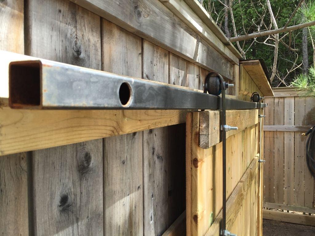 Make Sliding Barn Doors Weathertight1024 X 768