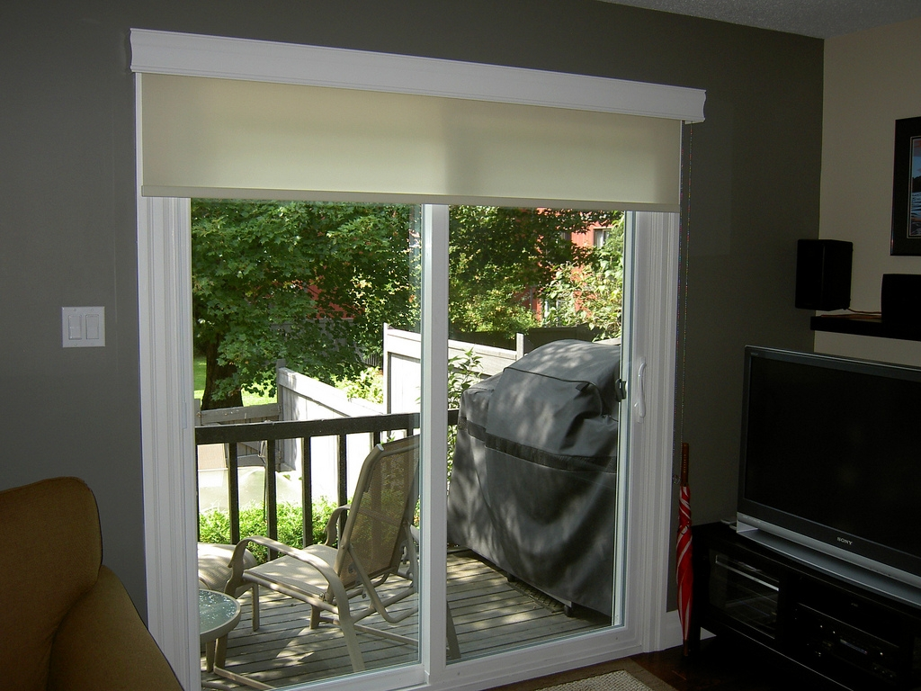 Roll Up Blinds For Sliding Patio Doors1024 X 768