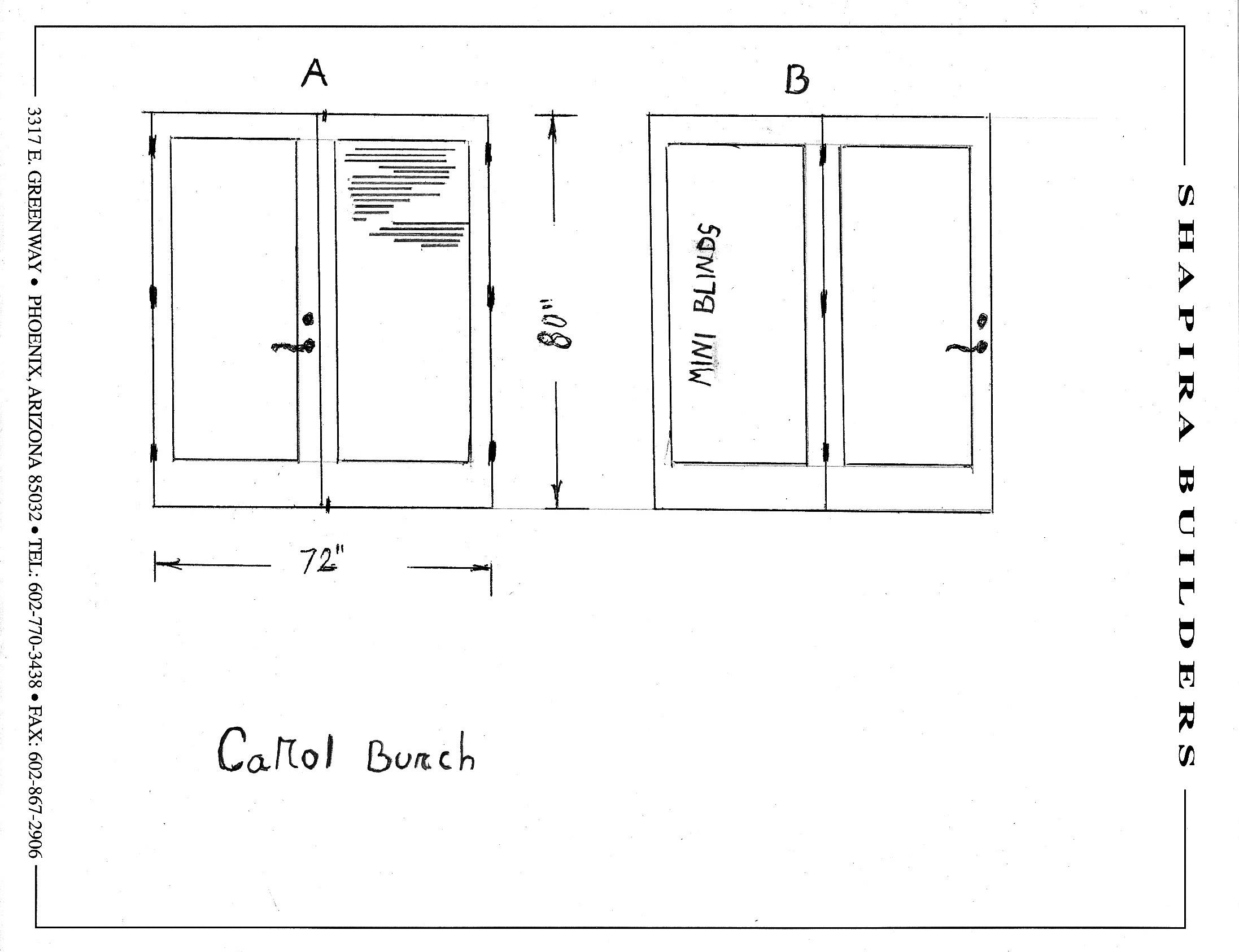 Rough Opening For Sliding Glass Door