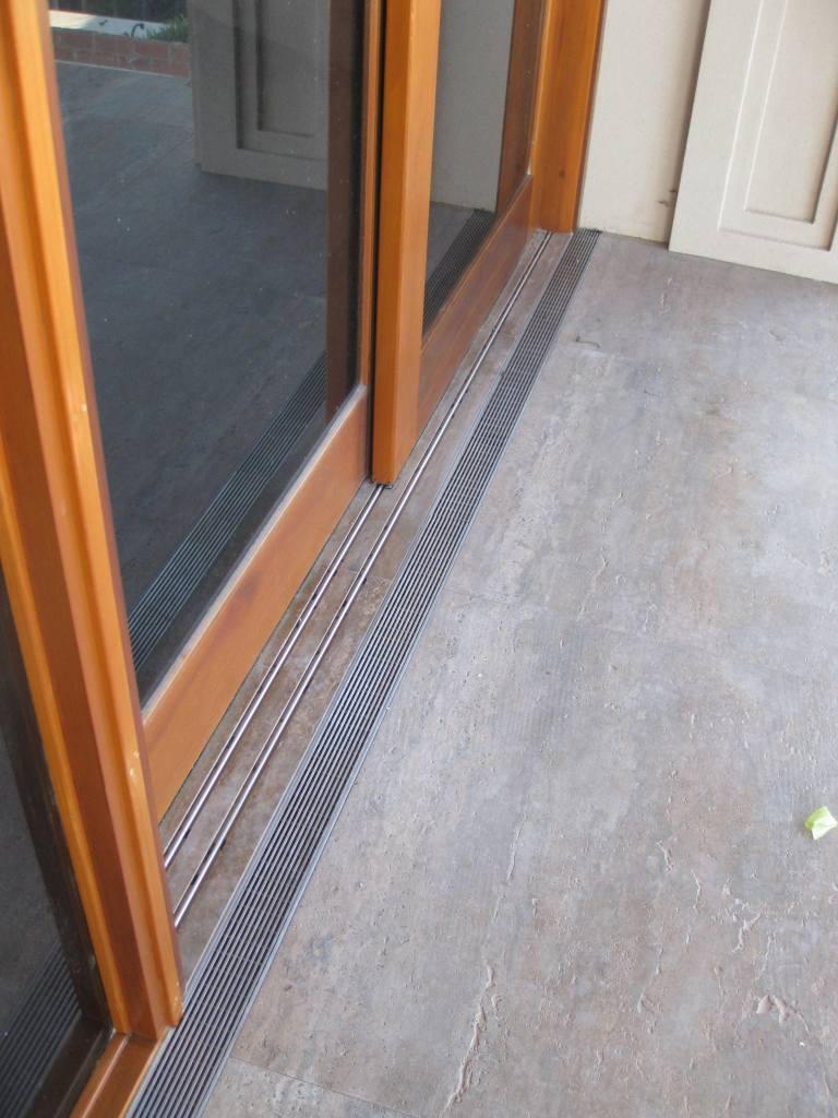 Sliding Door Without Floor TrackSliding Door Without Floor Track