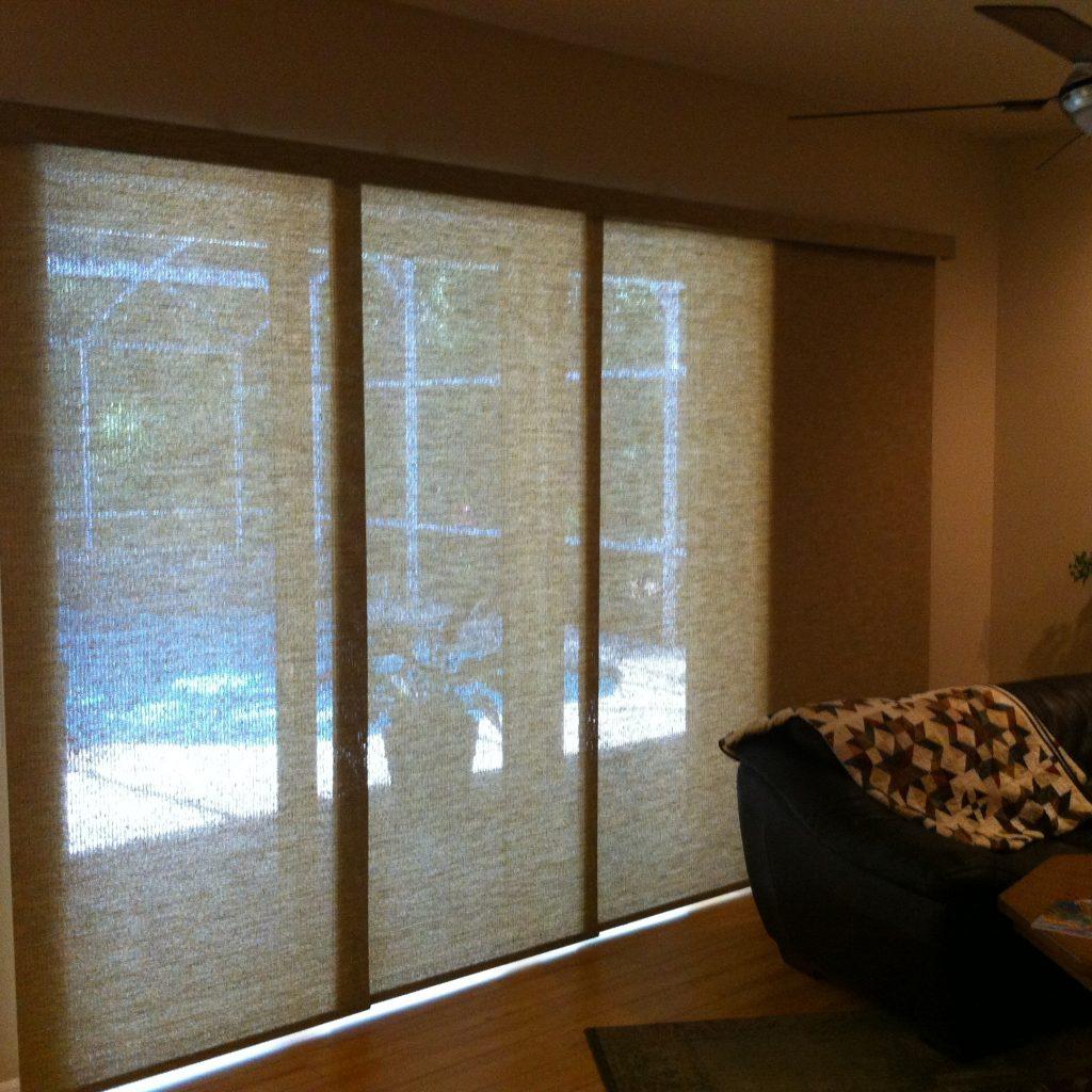 Sliding Glass Door Cover Options