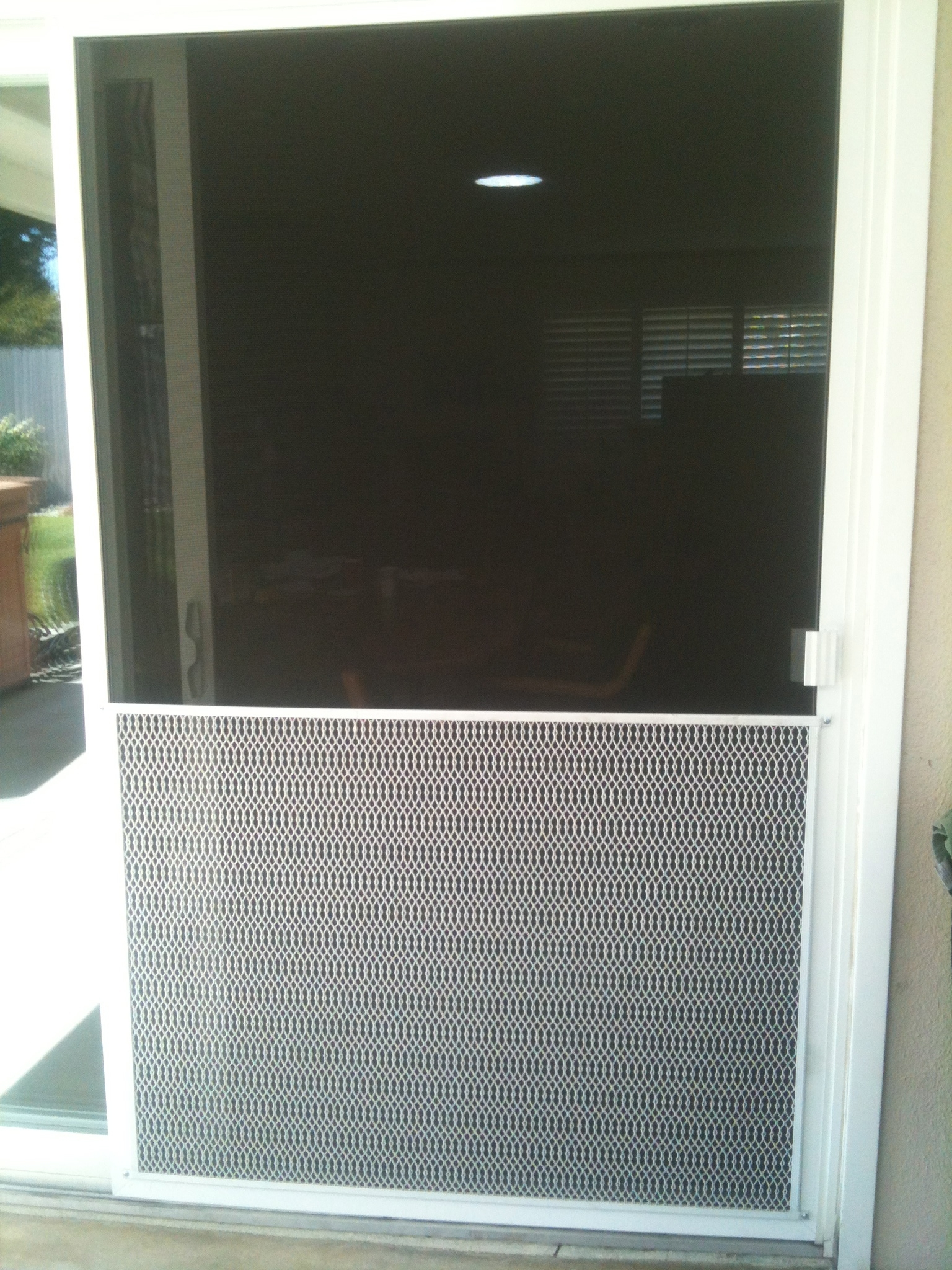 Sliding Glass Door Screen Guard