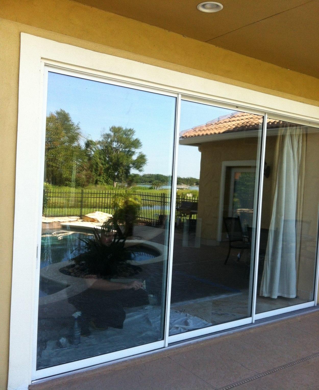 Sliding Glass Door Window Tint