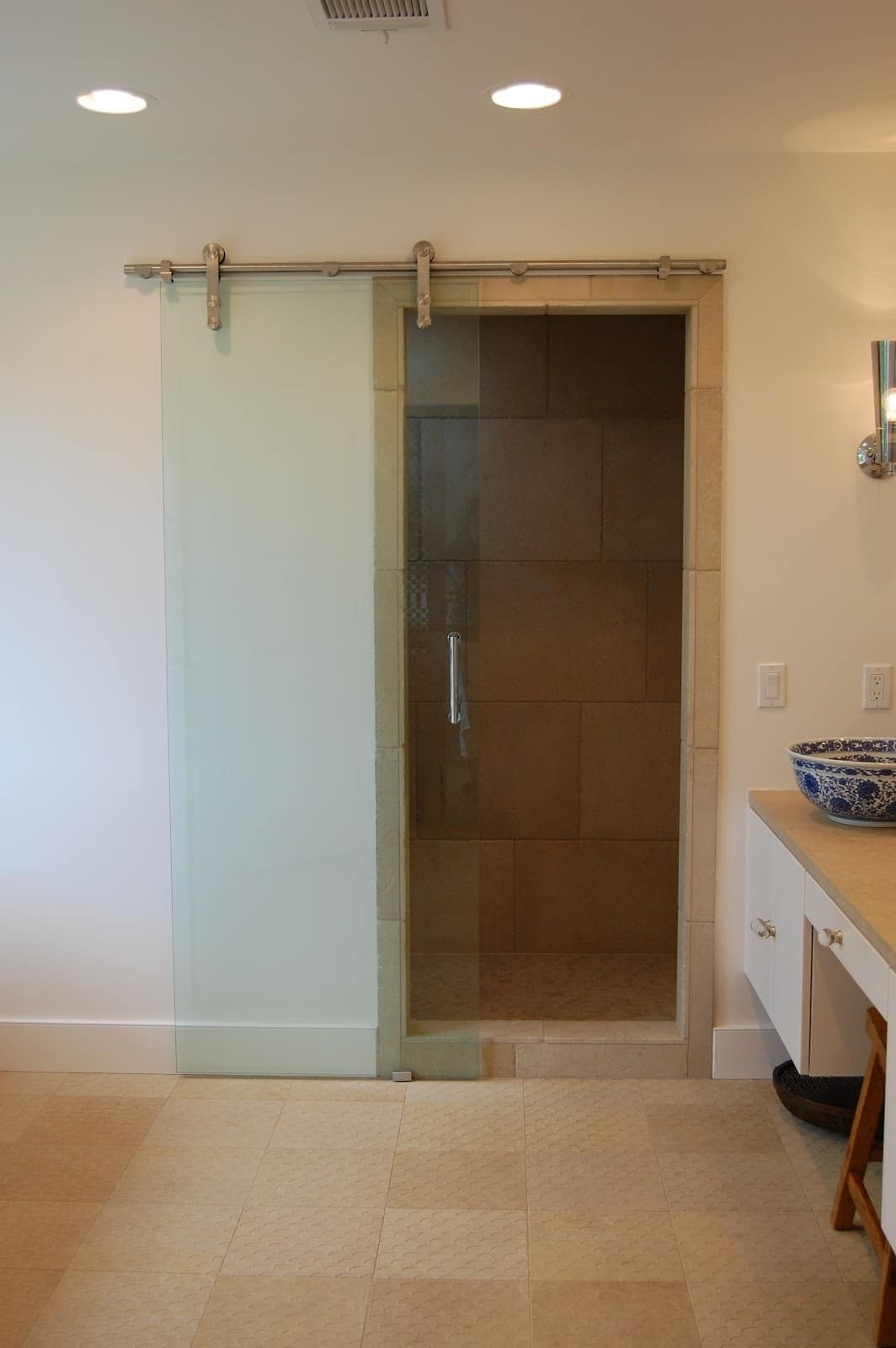 Sliding Glass Doors Wall Hung