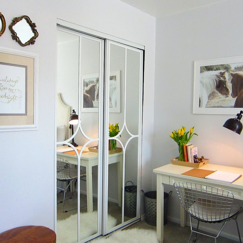 Sliding Mirror Closet Door Decorating Ideas1152 X 864