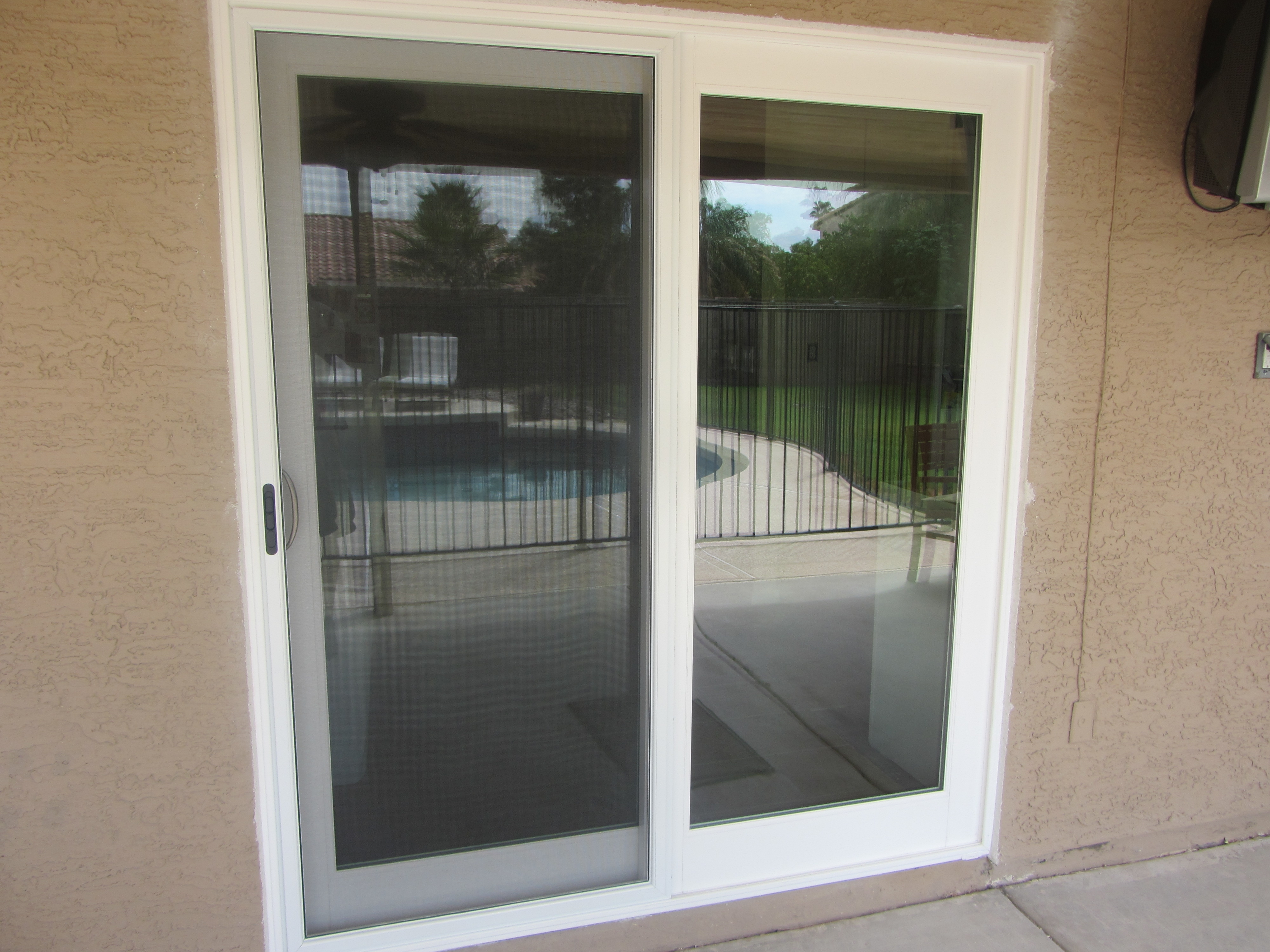 Sliding Patio Screen Door Top Track