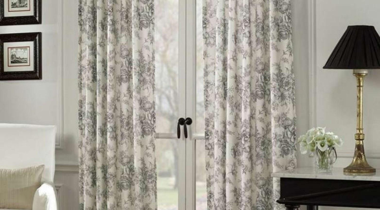 Standard Sliding Glass Door Curtain Size