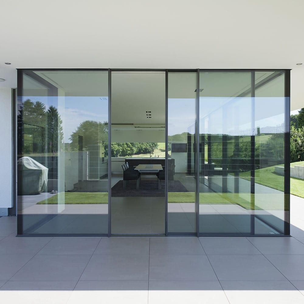 Triple Glazed Sliding Glass Doors