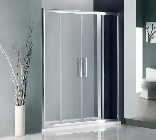 Permalink to 1600mm Double Sliding Door Shower Enclosure