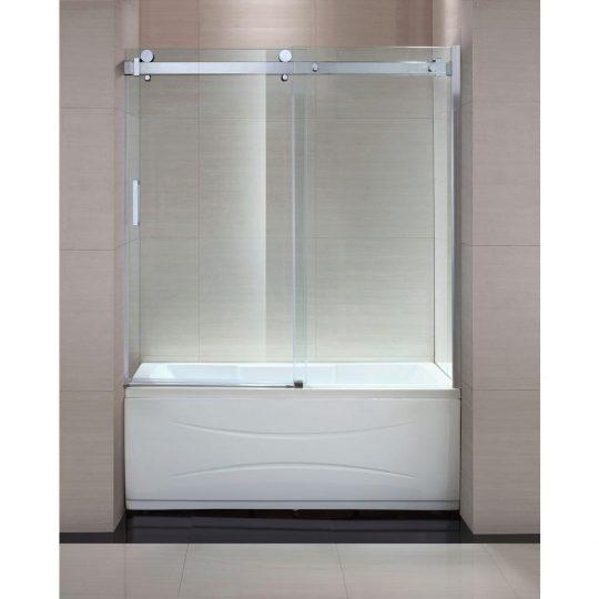 Permalink to Bathtub Sliding Shower Doors