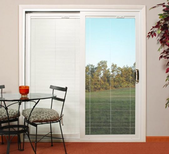 Permalink to Best Sliding Glass Doors With Blinds