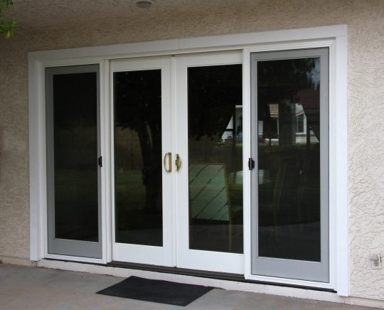 Permalink to Centre Opening Sliding Patio Doors
