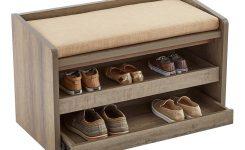 Craftsman 60 W Shoe Storage Bench With Sliding Doors  sc 1 st  Sliding Doors & Wood Framed Sliding Wardrobe Doorsheritage walnut effect frame ...