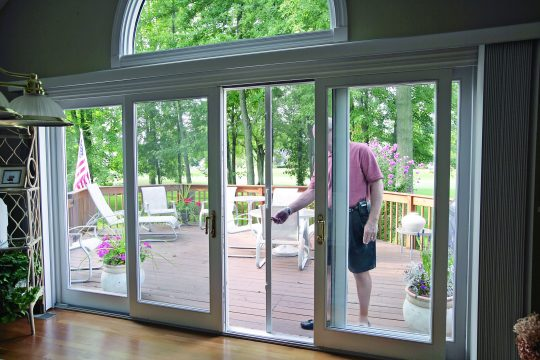 Permalink to Double Sliding Patio Doors With Screens