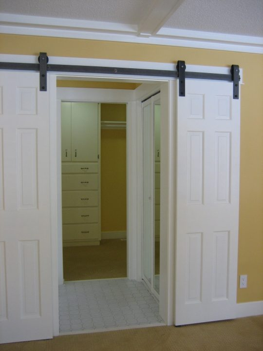 Permalink to Double Track Sliding Barn Doors