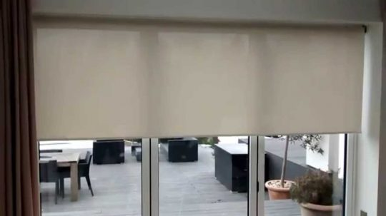 Permalink to Electric Blinds For Large Sliding Doors