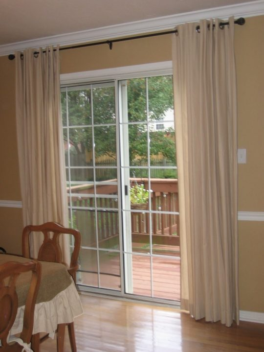 Permalink to Extra Long Curtains For Sliding Glass Doors