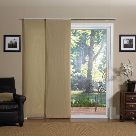 Permalink to Fabric Blinds For Sliding Glass Doors