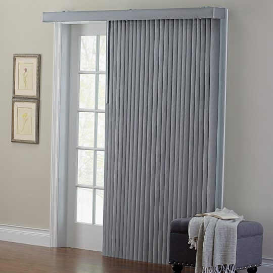 Permalink to Fabric Vertical Blinds For Sliding Glass Doors