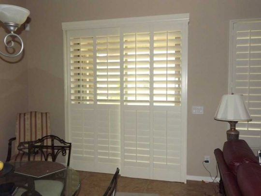 Permalink to Faux Wood Blinds For Sliding Glass Doors