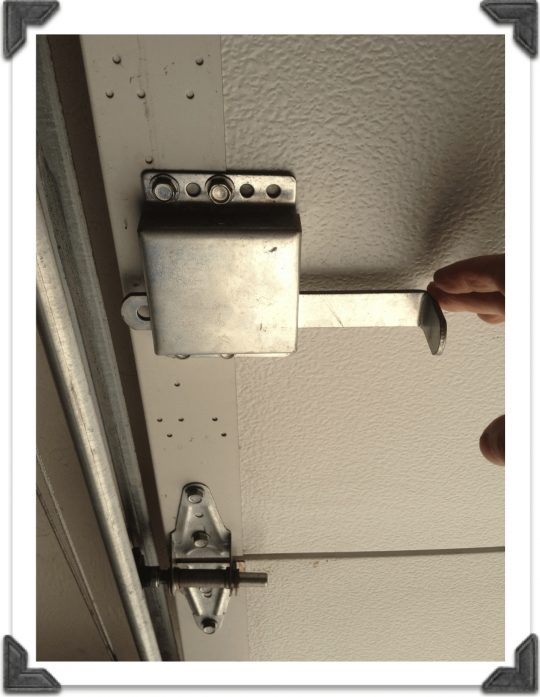 Permalink to Garage Door Inside Slide Lock