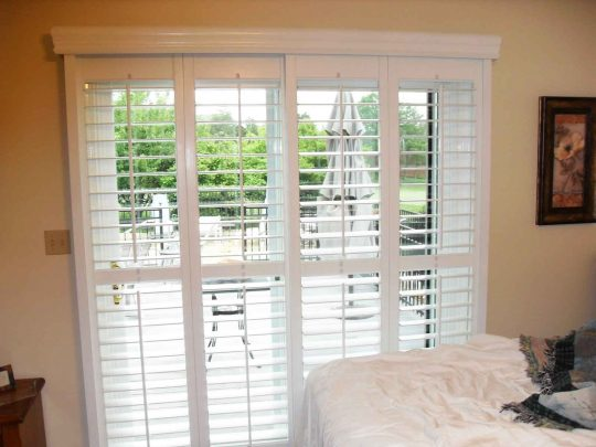 Permalink to Horizontal Wood Blinds For Sliding Glass Doors