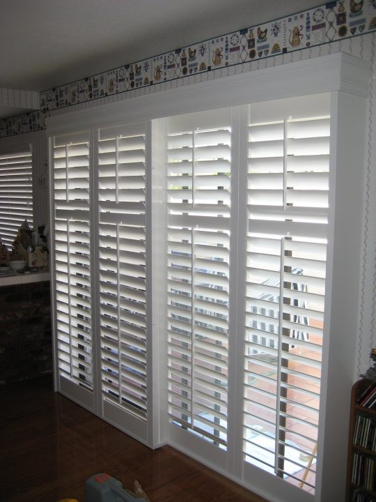 Permalink to Horizontal Wood Blinds Sliding Glass Doors